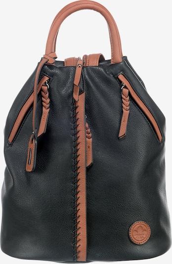 RIEKER Rucksack in braun / schwarz, Produktansicht