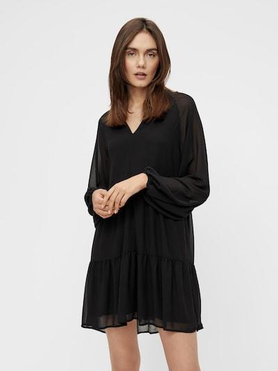 OBJECT Shirt Dress in Black, View model