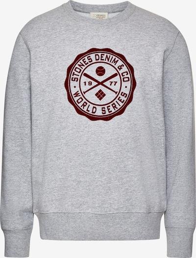 STONES Sweater 'CREW NECK' in graumeliert, Produktansicht