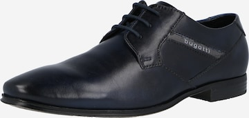 Pantofi cu șireturi 'Morino' de la bugatti pe albastru