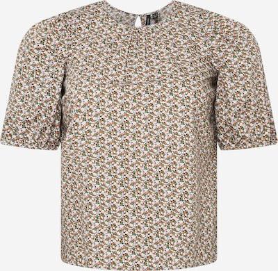 Vero Moda Curve Bluza 'LYKKE' | zelena / pastelno lila / oranžna / bela barva, Prikaz izdelka