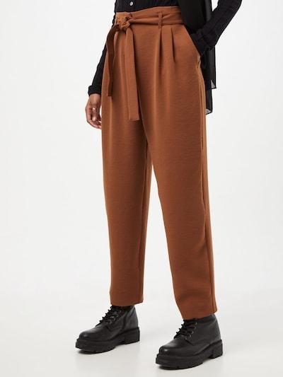 Pantaloni con pieghe 'RAPHAELA' PINKO di colore cognac, Visualizzazione modelli