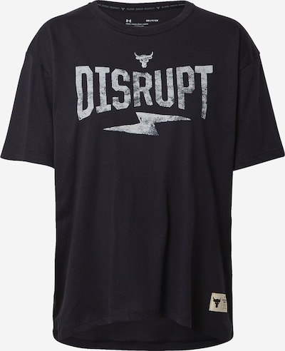 UNDER ARMOUR Sport-Shirt 'Rock Disrupt' in grau / schwarz, Produktansicht