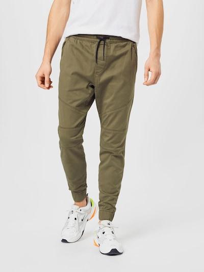 Kelnės iš HOLLISTER , spalva - alyvuogių spalva, Modelio vaizdas