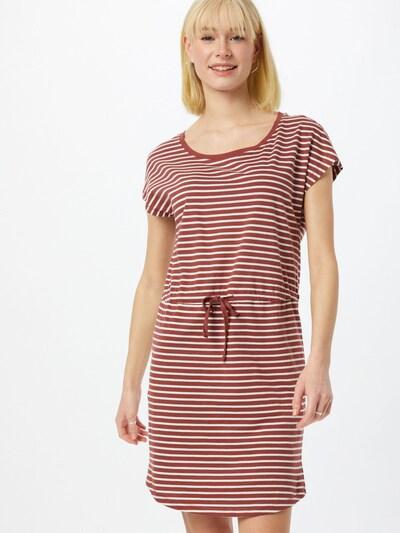 ONLY Robe 'MAY' en bleu / rouge foncé / blanc, Vue avec modèle