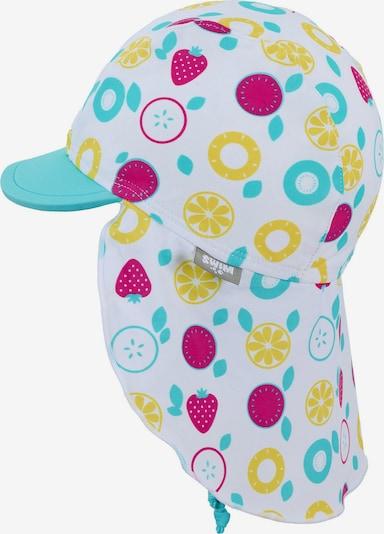 STERNTALER Cepure tirkīza / dzeltens / aveņkrāsas / balts, Preces skats