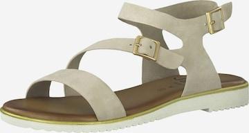 JANA Sandale in Beige