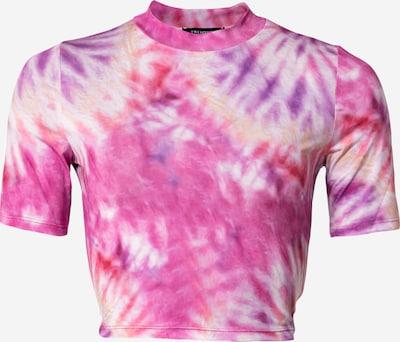 Tricou Trendyol pe bej / galben / lila / mov închis, Vizualizare produs