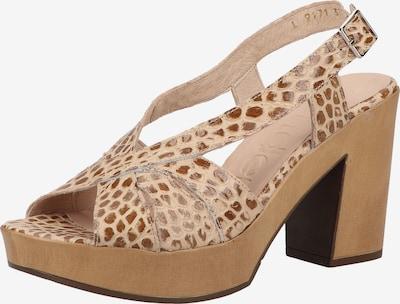 Wonders Sandalen in beige, Produktansicht