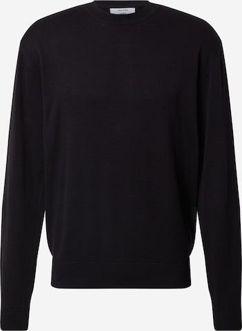 DAN FOX APPAREL Sweater 'Gregor' in Black