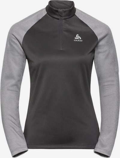 ODLO Shirt ' MIDLAYER 1/2 ZIP PLANCHES ' in grau, Produktansicht