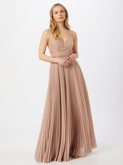 Unique Společenské šaty - béžová, Model/ka