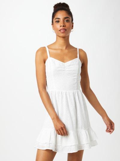 Rochie de vară HOLLISTER pe alb, Vizualizare model