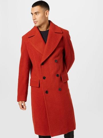 BOSS Overgangsfrakk 'Hyde' i rød