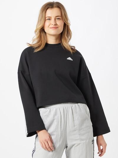 ADIDAS PERFORMANCE Sweatshirt in schwarz, Modelansicht