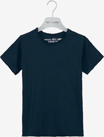 Key Largo T-Shirt 'BT BREAD' in blau, Produktansicht