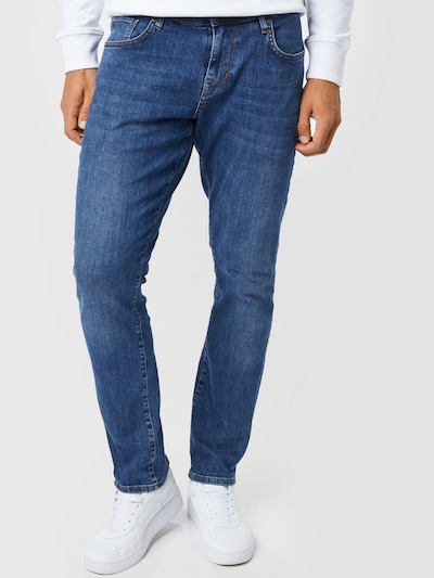 Jeans Ben Sherman pe albastru denim, Vizualizare model