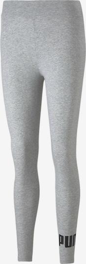 PUMA Leggings in graumeliert / schwarz, Produktansicht