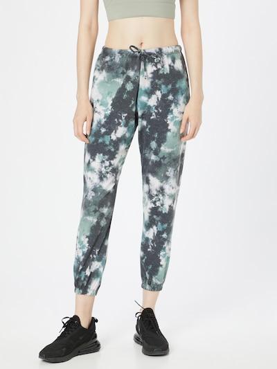 Onzie Sporthose in taubenblau / jade / weiß, Modelansicht