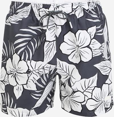 BOSS Casual Plavecké šortky 'Piranha' - grafitová / bílá, Produkt