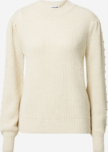 Noisy may Pullover 'Freja' in beige, Produktansicht