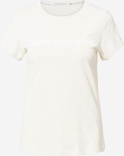 Calvin Klein Jeans Shirt in beige, Produktansicht