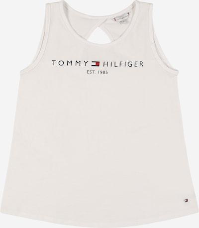 TOMMY HILFIGER Top - námornícka modrá / červená / biela, Produkt