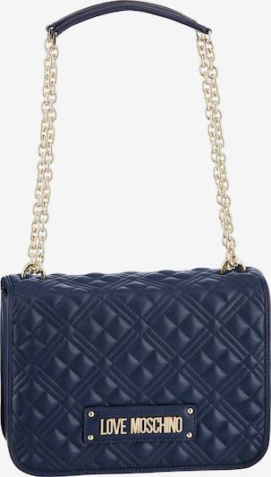 Love Moschino Tasche in dunkelblau / gold, Produktansicht