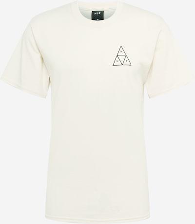 HUF T-Shirt en noir / blanc, Vue avec produit