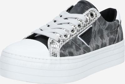 GUESS Zapatillas deportivas bajas en gris / piedra / gris oscuro / blanco, Vista del producto