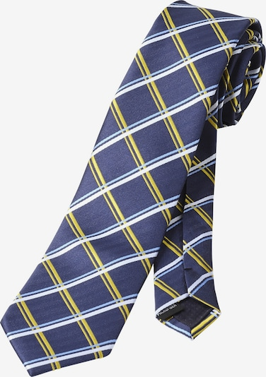 Charles Colby Cravate 'Lord Proinsias' en bleu foncé, Vue avec produit