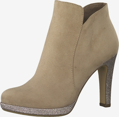 TAMARIS Ankle boots in Beige / Rose gold, Item view
