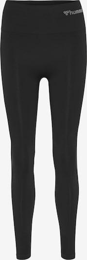 Pantaloni sportivi Hummel di colore nero / bianco, Visualizzazione prodotti