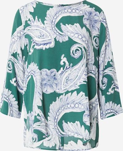 LIEBLINGSSTÜCK Blusa 'Elena' en azul / esmeralda / blanco, Vista del producto