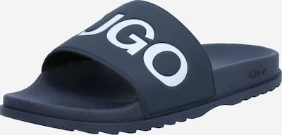 HUGO Pantofle - tmavě modrá / bílá, Produkt