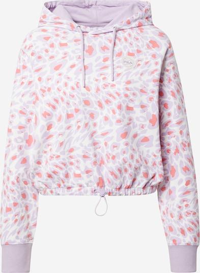 FILA Μπλούζα φούτερ 'DAISY' σε λιλά / κοραλί / λευκό, Άποψη προϊόντος