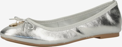 SCAPA Ballerinas in silber, Produktansicht