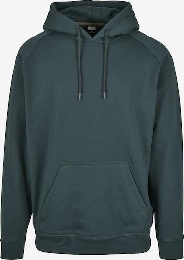 Urban Classics Sweatshirt in dunkelgrün, Produktansicht