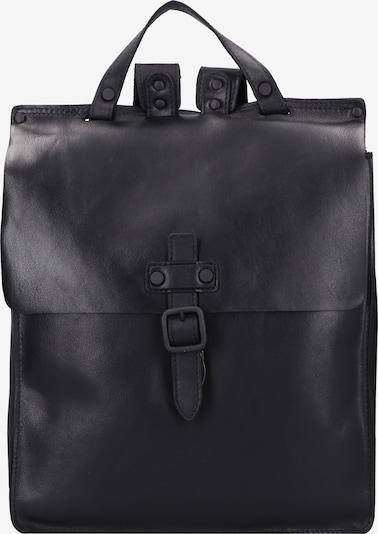 Harold's Rucksack 'Aberdeen' in schwarz, Produktansicht