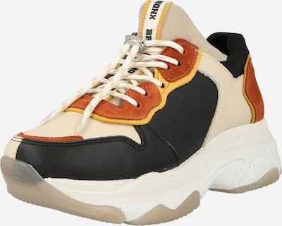 BRONX Låg sneaker 'Baisley' i beige / konjak / svart, Produktvy