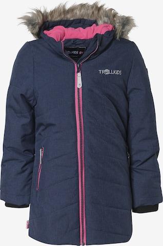 TROLLKIDS Skijacke 'Lifjell' in Blau