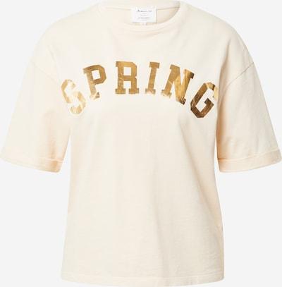 Maison 123 Shirt 'ITAK BIS' in pastellgelb / gold, Produktansicht