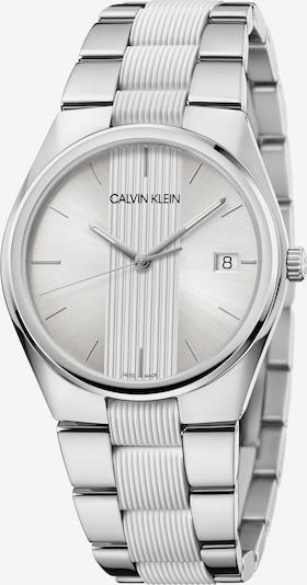 Calvin Klein Quarzuhr in grau / weiß, Produktansicht