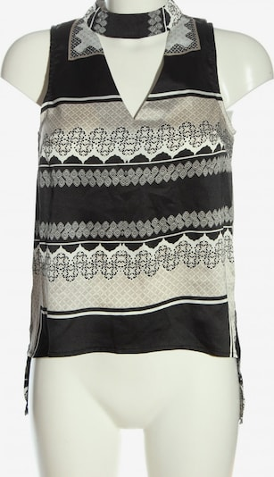 PARISIAN ärmellose Bluse in S in schwarz / wollweiß, Produktansicht