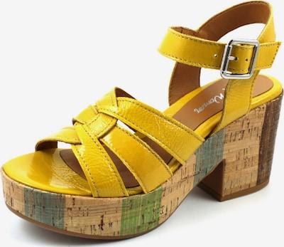 Alpe Sandale in gelb, Produktansicht