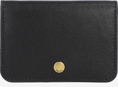 FOSSIL Kreditkartenetui 'Valerie' in schwarz, Produktansicht