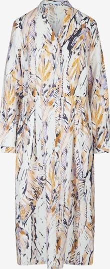 mint & mia Kleid mit Druck mit V-Ausschnitt in gelb, Produktansicht