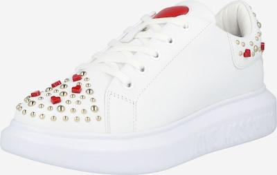 Love Moschino Zapatillas deportivas bajas en rojo / blanco, Vista del producto