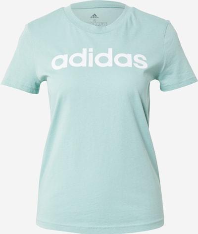 Sportiniai marškinėliai iš ADIDAS PERFORMANCE , spalva - mėtų spalva / balta, Prekių apžvalga