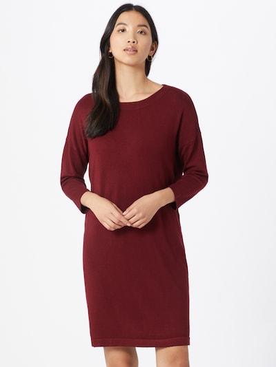 VERO MODA Kleid in dunkelrot, Modelansicht